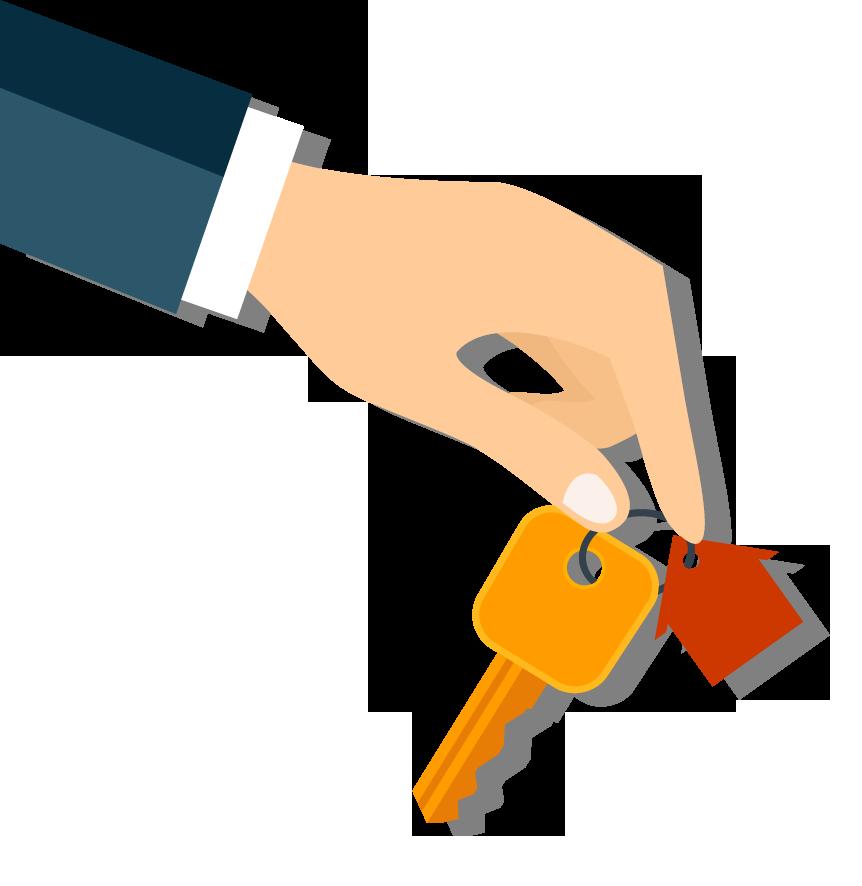 Hand-holding-keys